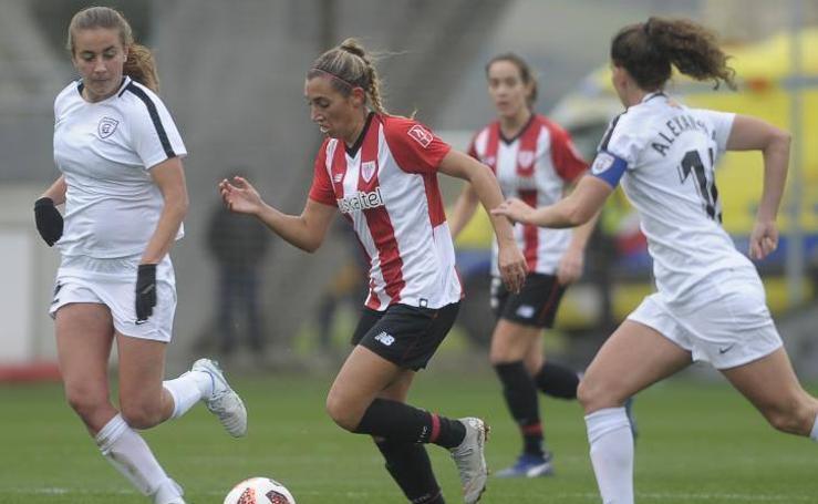 Estas son las fotos que nos ha dejado el partido entre el Athletic femenino y el Real Madrid