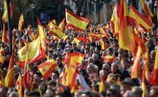 Miles de manifestantes claman en Madrid contra la «impunidad» de los «golpistas» catalanes