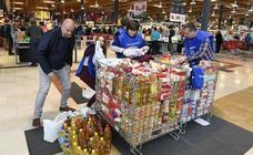 Bizkaia se vuelca en la recogida para el Banco de Alimentos