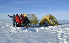 El Trineo de Viento parte al 'corazón' de la Antártida