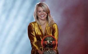 La noruega Ada Hegerberg gana el primer Balón de Oro femenino