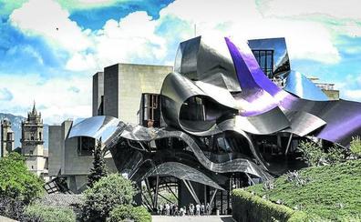 El hotel de Riscal en Elciego iniciará tras las navidades su ambiciosa ampliación