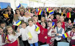 La conexión rumana de la albarca vasca
