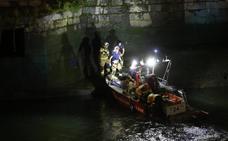 Rescatado un hombre en Bilbao tras caer a la ría