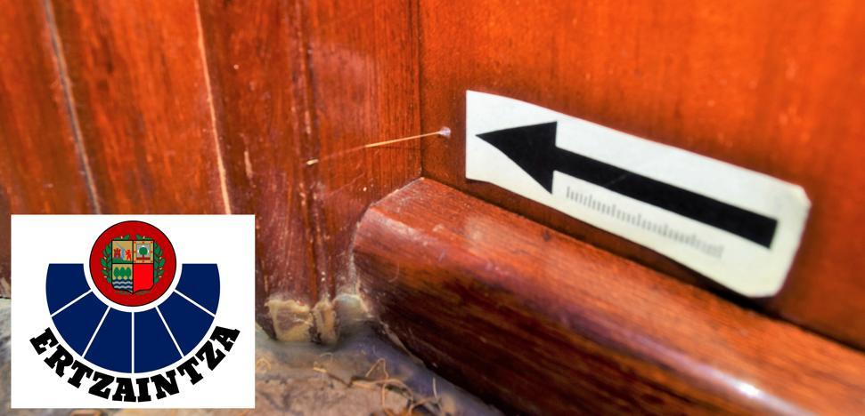 Los ladrones de casas en Bizkaia se apuntan a los 'escalos' y a los hilillos de pegamento