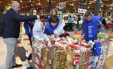 La Gran Recogida de Alimentos supera el millón de kilos en Bizkaia