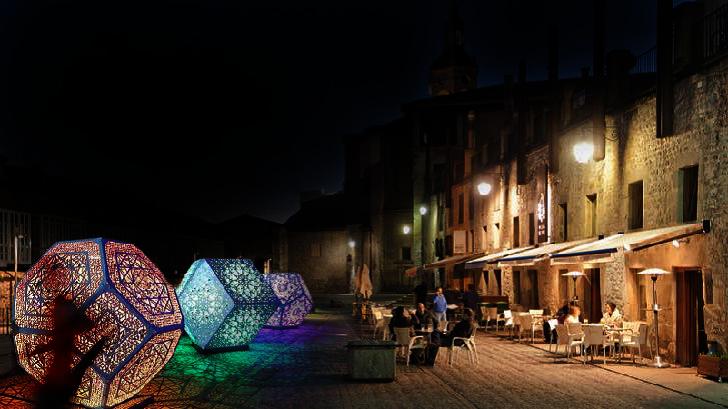 Los iconos de Vitoria brillarán con luz propia en el primer Umbra Light Festival