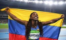 Caterine Ibargüen, mejor atleta del año