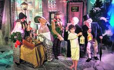 Ortzai transforma Vitoria en el Londres del siglo XIX con 'Cuento de Navidad'