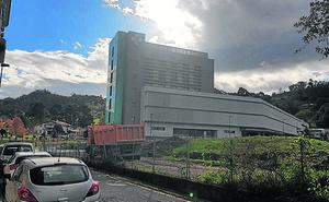 Comienza la fase más compleja de la obra del parking del hospital de Urduliz
