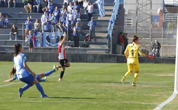 Málaga-Athletic, en imágenes