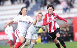 Erika Vázquez: «El equipo ha disfrutado con balón»