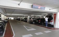 Trabajo exige al aeropuerto que arregle las goteras del parking de Calatrava