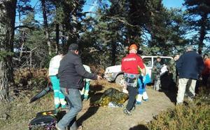Fallece un cazador de 73 años al recibir un disparo durante una batida en Valdegovía