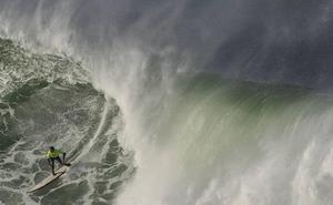 El Punta Galea Challenge de ola grande se disputará este lunes