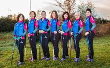 El equipo femenino de Hazten en marcha hacia el Campeonato de España
