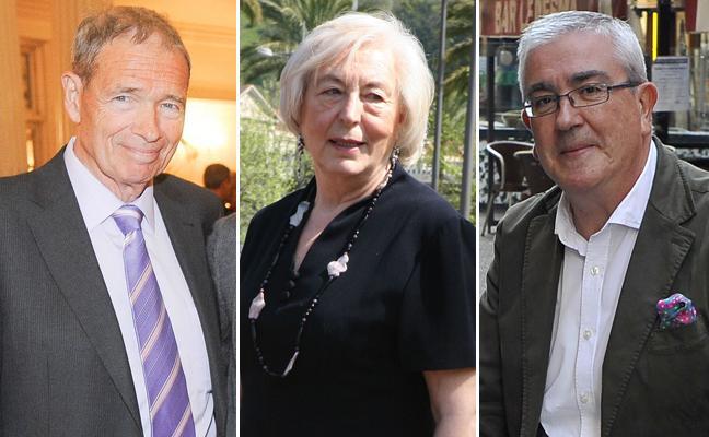 Félix Linares, Victoria Cañas e Isidro Elezgarai se suman al club de los 'Ilustres de Bilbao'