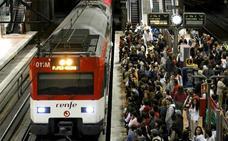 CC OO y CGT convocan huelga en el ferrocarril esta Navidad