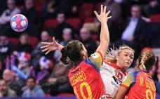 España sólo resiste un tiempo ante Noruega (26-33)