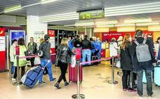 Foronda cumple su objetivo de pasajeros al rozar los 130.000 hasta noviembre