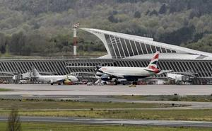 El aeropuerto de Bilbao supera el récord de los 5 millones de viajeros