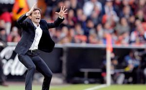 Tensa despedida de la Champions en Mestalla
