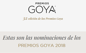 Premios Goya 2019: lista de nominados