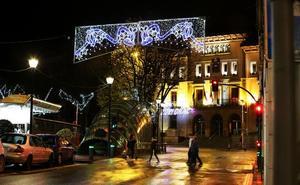 Las obras de la plaza San Pedro modifican la ruta del Olentzero y los Reyes Magos en Sestao