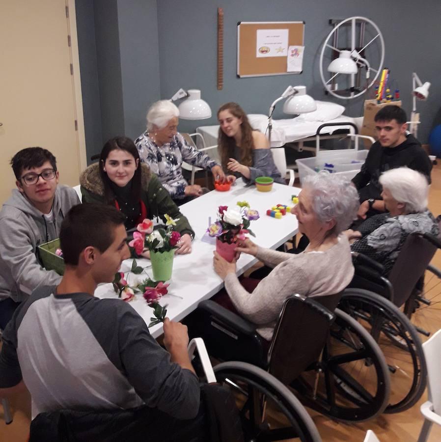 Escolares zornotzarras participan en terapias de rehabilitación neurológica