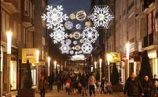 20 años de luces navideñas en Vitoria
