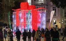Veinte años de luces navideñas en Vitoria