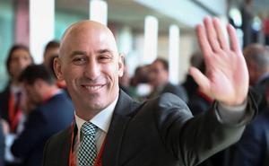 Rubiales insiste en que la oficialidad de Euskadi es «totalmente irrealizable»