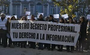 El periodismo se planta ante el Supremo por el «insólito» ataque al secreto profesional