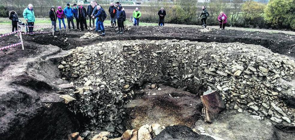 El megalito de Pariburu es «único en el patrimonio arqueológico alavés»