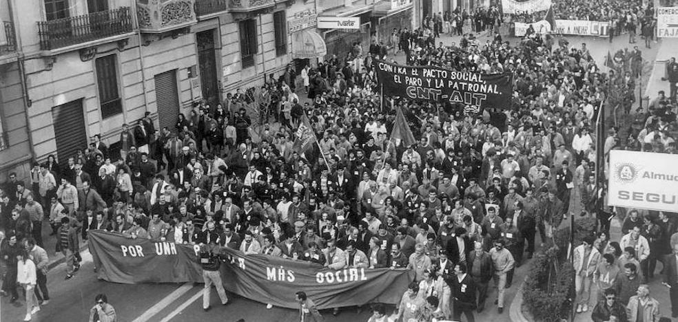 La protesta que marcó una época en España