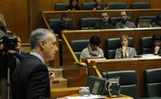 Duros reproches del Gabinete Urkullu y EH Bildu en el Parlamento por el fracaso en los Presupuestos