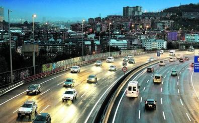 Bizkaia ensaya para que los vehículos puedan enviar datos sobre el tráfico