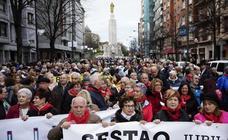 Estas son las imágenes que nos deja la manifestación en defensa de unas pensiones públicas dignas en Bilbao