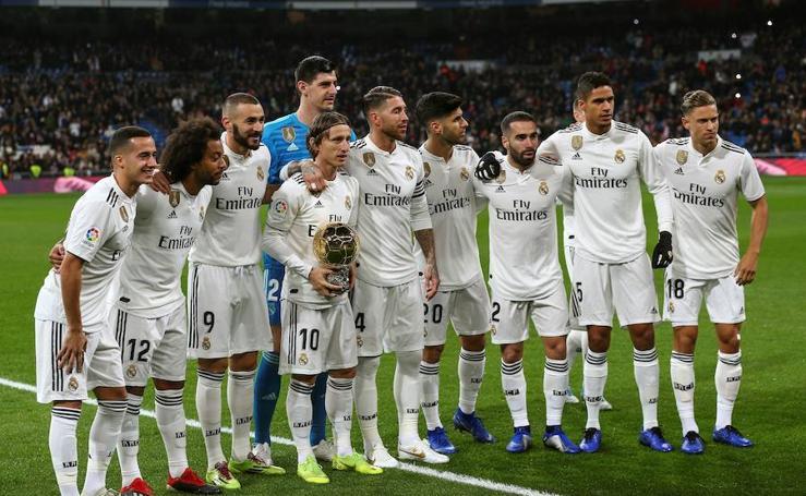 Real Madrid-Rayo, en imágenes