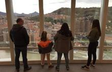 La transformación de Bilbao da vértigo desde la Torre Iberdrola