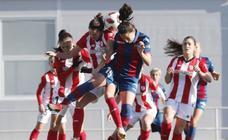 La derrota del Athletic ante el Levante, en imágenes