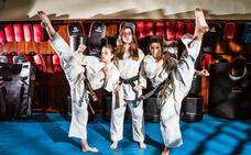 El karate al KO posiciona a las deportistas alavesas en la élite internacional