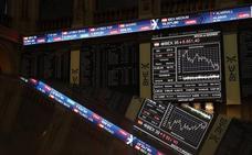El Ibex-35 rebota, pero no recupera los 8.800 puntos