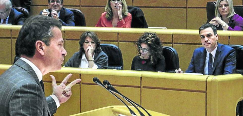 Sánchez advierte al PNV de que no puede reformar el Estatuto solo con EH Bildu
