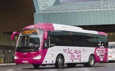 La Diputación mejora el servicio de autobús que conecta Vitoria con Durango y Miranda