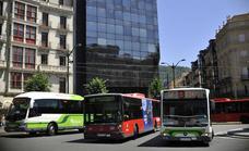 Los trabajadores de Bilbobus mantienen la huelga en Santo Tomás