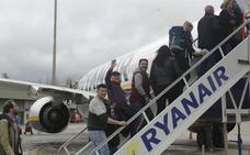Ryanair prevé programar un tercer vuelo semanal de Vitoria a Tenerife a partir de abril