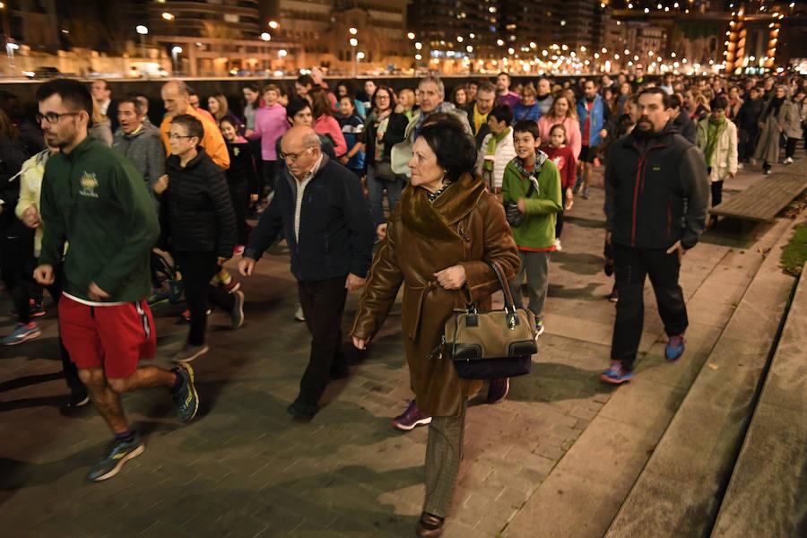 Quedada en Bilbao para exigir que la mujer pueda «salir segura y correr sin miedo»