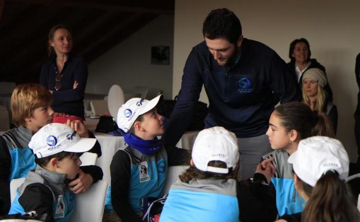 Estas son las imágenes que nos deja Jon Rahm en el campo de golf de La Arboleda