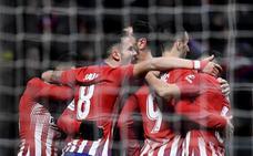 Un penalti con VAR da una sufrida victoria al Atlético
